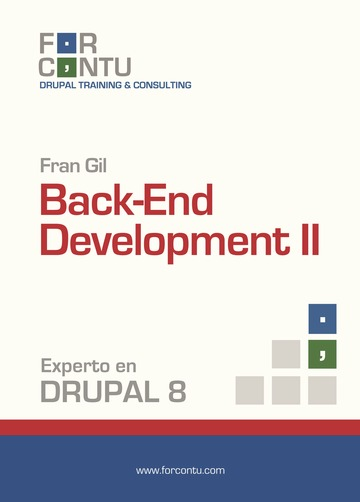 Experto en Drupal 8 Back-End Development II