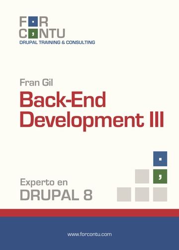 Experto en Drupal 8 Back-End Development III