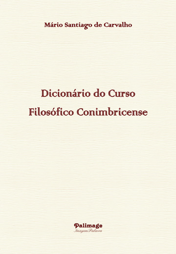 Dicionário do Curso Filosófico Conimbricense